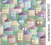 fabulous children's houses ... | Shutterstock .eps vector #1678554727