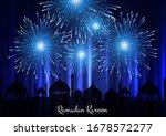 Ramadan Kareem Background With...