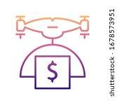 drone with money nolan icon....