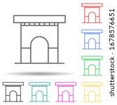 building  arch multi color set...