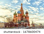 St Basil's Cathedral On The Red ...