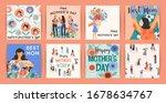 happy mothers day. vector... | Shutterstock .eps vector #1678634767