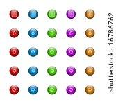 internet arrow buttons ... | Shutterstock . vector #16786762