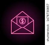 envelope with money icon....
