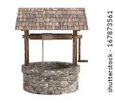 realistic 3d render of medieval ... | Shutterstock . vector #167873561