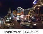 las vegas  usa   sept 26   view ... | Shutterstock . vector #167874374