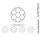 soccer ball nolan icon. simple...