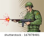 World War 2 Soldier