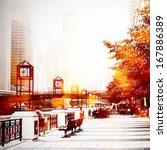 urban street scene   Shutterstock . vector #167886389