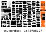 brush strokes bundle. vector... | Shutterstock .eps vector #1678908127