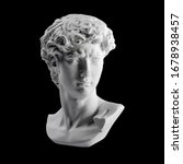 Gypsum Statue Of David's Head....