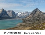 A beautiful view of the Tasiilaq Fjord in Greenland.