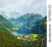 Norway Landscape Mountains And...
