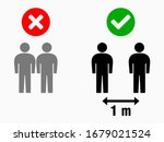 social distancing keep your... | Shutterstock .eps vector #1679021524