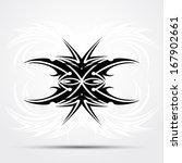 tribal tattoo | Shutterstock .eps vector #167902661