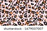 Leopard Pattern Seamless....