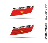 two modern colored vector... | Shutterstock .eps vector #1679047444