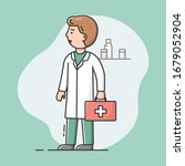 concept of medical staff.... | Shutterstock .eps vector #1679052904