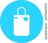 paper shopping bag icon  logo...