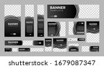 set of creative web banners of... | Shutterstock .eps vector #1679087347
