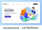 home delivery service of drugs  ... | Shutterstock .eps vector #1679099491