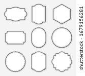 blank frame labels collection... | Shutterstock .eps vector #1679156281