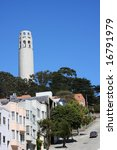 coit tower in san francisco ... | Shutterstock . vector #16791979
