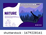 nature landing page in...