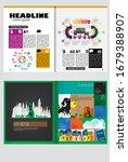 brochure template flyer...   Shutterstock .eps vector #1679388907