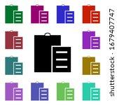 clipboard multi color style...