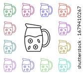 lemonade multi color style icon....