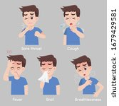 set of man with different... | Shutterstock .eps vector #1679429581