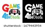 game on 4th grade printable... | Shutterstock .eps vector #1679443954