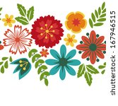 floral background with... | Shutterstock .eps vector #167946515