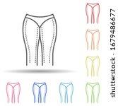 woman legs  liposuction in...