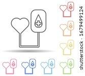 heart  blood donation in multi...