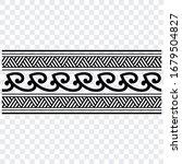 polynesian tattoo pattern... | Shutterstock .eps vector #1679504827