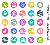 insurance icons | Shutterstock .eps vector #167951669