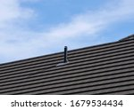 Tiled Roof With Soil Stack Roof ...