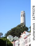 coit tower in san francisco ... | Shutterstock . vector #16795378