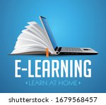 computer as book knowledge base ...   Shutterstock .eps vector #1679568457