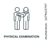 physical examination icon from... | Shutterstock .eps vector #1679615797