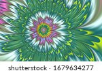 Beautiful Abstract Flower For...