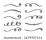 ornament divider collection.... | Shutterstock .eps vector #1679707111