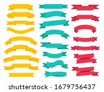set of banner ribbon elements... | Shutterstock .eps vector #1679756437