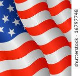 flag of the united states | Shutterstock .eps vector #16797748