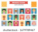 memory game with cartoon... | Shutterstock .eps vector #1679789467