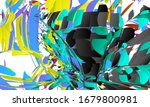 abstract landing page template...   Shutterstock .eps vector #1679800981