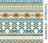 mexican american indian pattern ... | Shutterstock .eps vector #1679821411