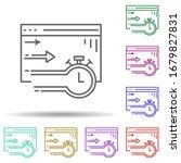 website session multi color...